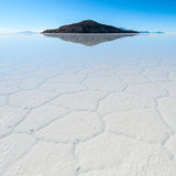 Salar de Uyuni in Bolivia Royalty Free Stock Image
