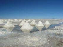 Salar de Uyuni, Bolivie. Photographie stock