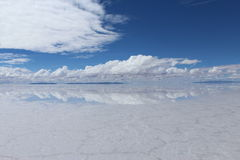 Salar de Uyuni, BOLIVIE Photographie stock