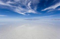 Salar de Uyuni, Bolivien Stockbild