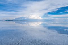 Salar de Uyuni desert, Bolivia Royalty Free Stock Photography