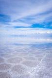 Salar de Uyuni desert, Bolivia Royalty Free Stock Photography