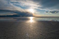 Salar de Uyuni desert, Bolivia Royalty Free Stock Images