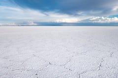 Salar de Uyuni desert, Bolivia Stock Photography