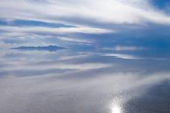 Salar de Uyuni desert, Bolivia Royalty Free Stock Photos