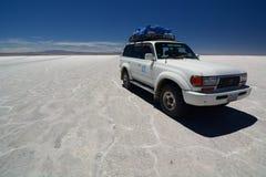Salar de Uyuni Dipartimento di Potosà bolivia Fotografie Stock Libere da Diritti