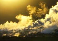 Salar de Uyuni Geyser stockfotos
