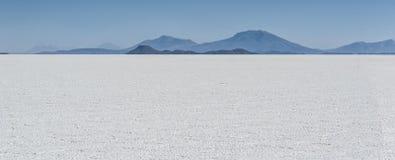 Salar de Uyuni is largest salt flat in the World UNESCO World Heritage Site - Altiplano, Bolivia Stock Photo