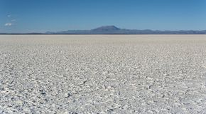 Salar de Uyuni is largest salt flat in the World UNESCO World Heritage Site - Altiplano, Bolivia Royalty Free Stock Images