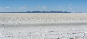 Salar de Uyuni is largest salt flat in the World UNESCO World Heritage Site - Altiplano, Bolivia Royalty Free Stock Photo