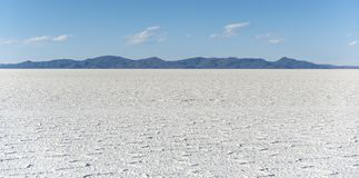 Salar de Uyuni is largest salt flat in the World UNESCO World Heritage Site - Altiplano, Bolivia Stock Photography