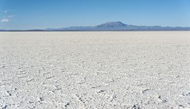 Salar de Uyuni is largest salt flat in the World UNESCO World Heritage Site - Altiplano, Bolivia Royalty Free Stock Photos