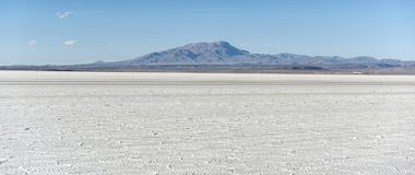Salar de Uyuni is largest salt flat in the World UNESCO World Heritage Site - Altiplano, Bolivia Stock Photo