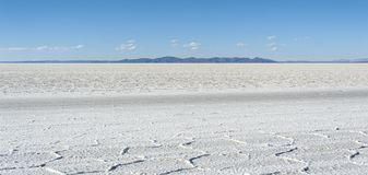 Salar de Uyuni is largest salt flat in the World UNESCO World Heritage Site - Altiplano, Bolivia Stock Photography