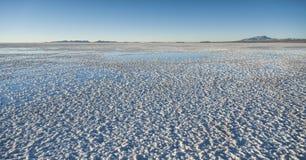 Salar de Uyuni near Colchani. It is the largest salt flat in the World UNESCO World Heritage Site - Altiplano, Bolivia royalty free stock image