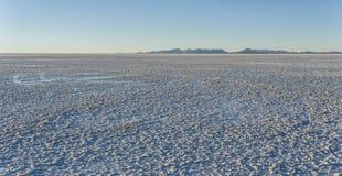 Salar de Uyuni near Colchani. It is the largest salt flat in the World UNESCO World Heritage Site - Altiplano, Bolivia stock photo