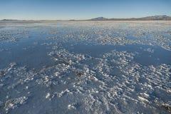 Salar de Uyuni near Colchani. It is the largest salt flat in the World UNESCO World Heritage Site - Altiplano, Bolivia stock image