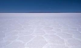 Salar de Uyuni Sal liso Foto de Stock