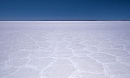 Salar de Uyuni Salt Flat Stock Photo