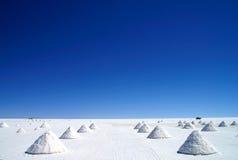Salar de Uyuni. Uyuni Salt Flats in Bolivia Stock Images