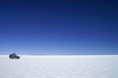 Salar de Uyuni. Uyuni Salt Flats in Bolivia Royalty Free Stock Images