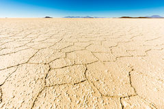 Salar De Uyuni soli ziemi pustyni widoku Boliwia krajobraz Fotografia Stock