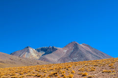 Salar Mountains Stock Photo