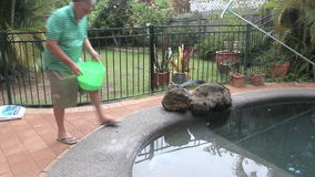 Salar una piscina metrajes