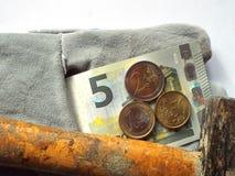 Salario mínimo alemán 8 50 Foto de archivo libre de regalías