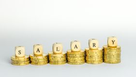 salaris royalty-vrije stock afbeelding