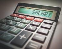 Salary Calculator Stock Images