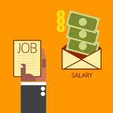 Salary concept Stock Images
