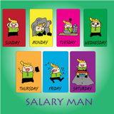 Salary man Royalty Free Stock Photography