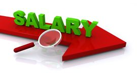 Salary royalty free illustration