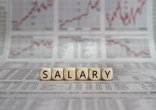 SALARY Royalty Free Stock Photo