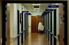 Salas de consulta do hospital Fotografia de Stock Royalty Free