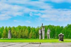 Salaspils koncentrationsläger arkivfoton