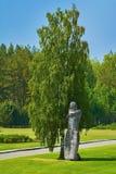 Salaspilsconcentratiekamp stock fotografie