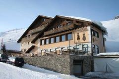 Salastrains Ski Hut, St. Moritz Royalty Free Stock Image