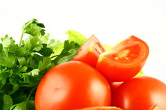 salat蕃茄 库存图片