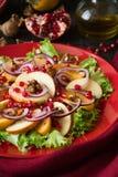 Salat свежих фруктов с perssimons и венисой Стоковые Фото