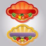 Salat-Aufkleber Lizenzfreies Stockbild