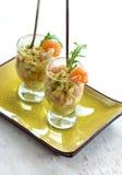 Salat avokado Lizenzfreie Stockfotos