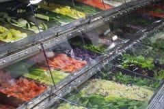 Salat-Buffet Stockfotografie
