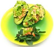 Salat der Avocados Stockfotografie
