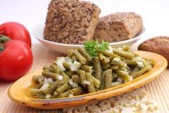 Salat der grünen Bohnen Lizenzfreie Stockfotografie
