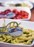 Salat der grünen Pfeffer Stockbilder