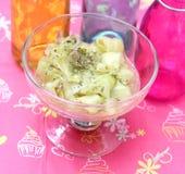 Salat der Gurke lizenzfreie stockfotografie