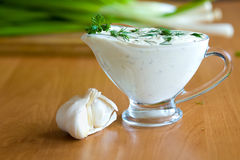 Salat der neuen Grüns Lizenzfreie Stockfotos