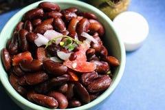 Salat der roten Bohnen Stockfoto